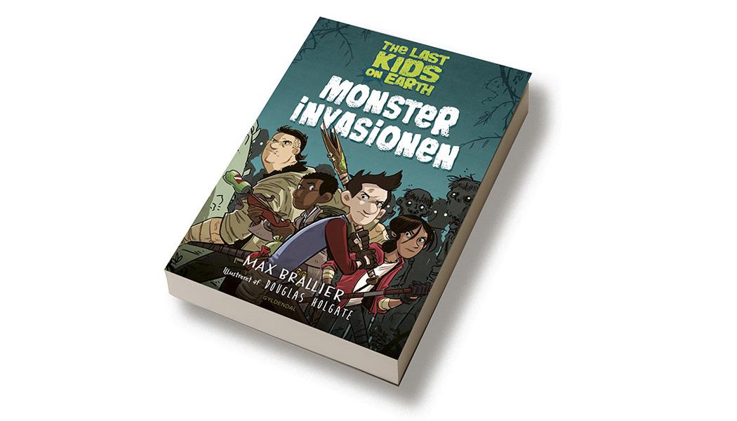 The Last kids on earth - monster invasionen - sats og omslags design BogGrafisk