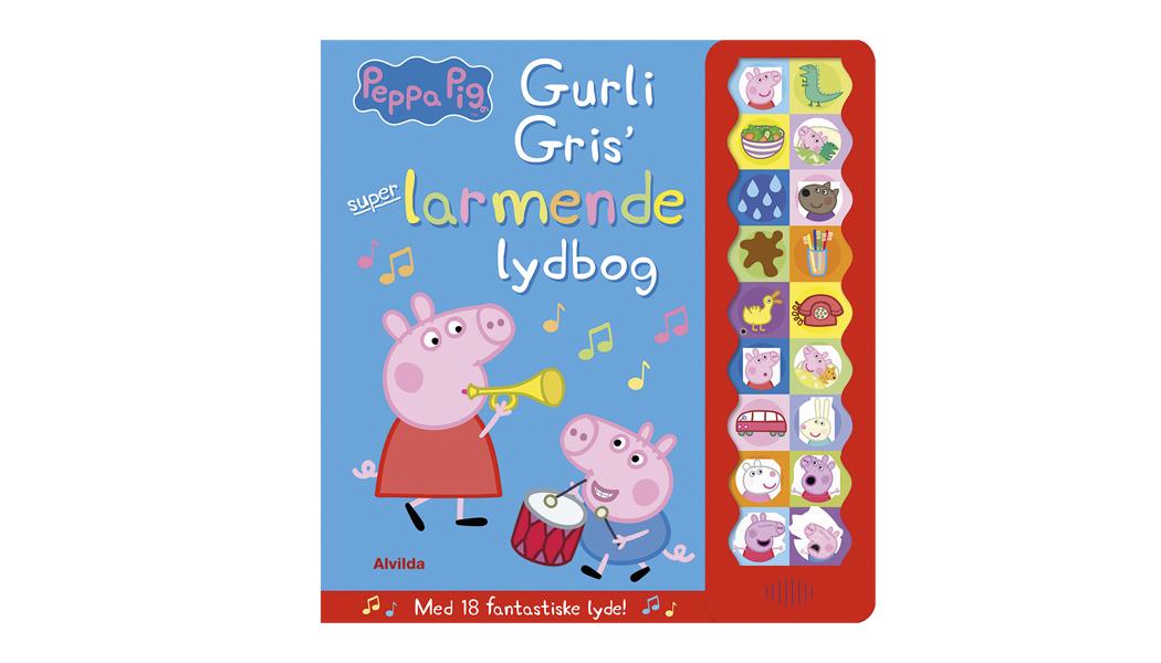 Gurli Gris - dansk version - sats og omslags design BogGrafisk